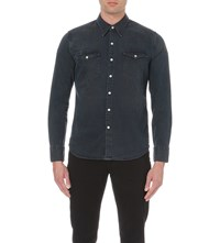 Levi's Barstow Western Denim Shirt Q3266 Smokey Dark