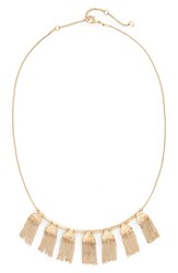 Treasure And Bond Women's Chain Fringe Necklace