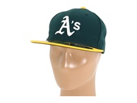 New Era Authentic Collection 59Fifty Oakland Athletics Home Baseball Caps Navy