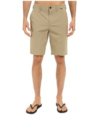 Hurley Dri Fit Chino Walkshort Khaki Men's Shorts