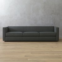 Cb2 Club 3 Seater Sofa