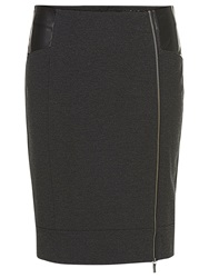 Betty Barclay Pencil Skirt With Zip Anthracite Melagne