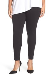 Lysse Plus Size Women's Denim Leggings Black