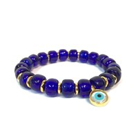 Eye Of The Sea Evil Eye Charm Bracelet Blue