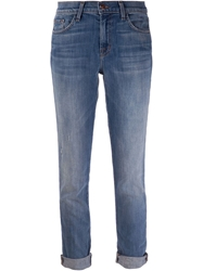 J Brand 'Allyn' Slim Boyfriend Jean Blue