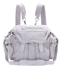Alexander Wang Marti Leather Backpack Grey