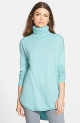 Chelsea 28 Women's Chelsea28 Turtleneck Sweater Blue Merchant Heather
