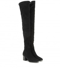 Edun Over The Knee Suede Boots Black
