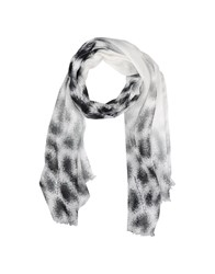 Class Roberto Cavalli Accessories Oblong Scarves Women White