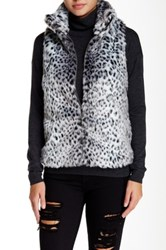 Fever Faux Fur Vest Multi