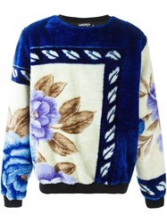 Andrea Crews 'Bloom' Sweatshirt Blue