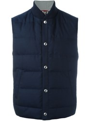 Brunello Cucinelli Padded Gilet Blue