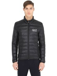 Emporio Armani Logo Light Nylon Down Jacket