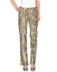 Roberto Cavalli Denim Denim Trousers Women Sand