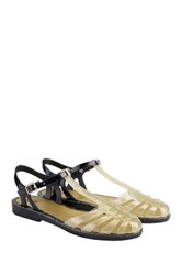 Igor Laida Jelly Sandal Metallic
