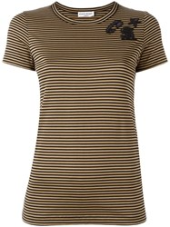 Sonia Rykiel Striped T Shirt Black