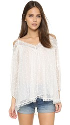Zimmermann Realm Scallop Top White