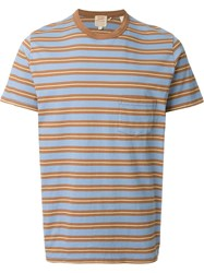Levi's Vintage Clothing '1960'S' Striped T Shirt Brown