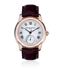 Frederique Constant Classics Manufacture Watch With Rose Gold Unisex