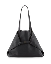 Akris Ai Medium Cervo Tote Bag Black
