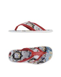Dolce And Gabbana Footwear Thong Sandals Men