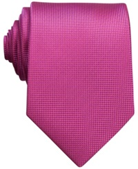 Perry Ellis Oxford Solid Tie Orchid