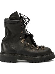 Guidi Lace Up Boots Black