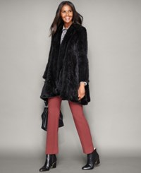 The Fur Vault Knitted Mink Fur Coat