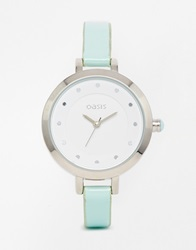 Oasis Dot Turquoise Watch Blue