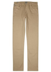 Citizens Of Humanity Mod Sand Slim Leg Jeans Beige