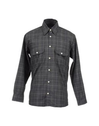 Dockers Long Sleeve Shirts Grey