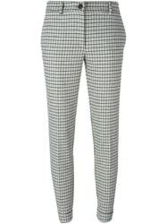 P.A.R.O.S.H. Houndstooth Trousers Black