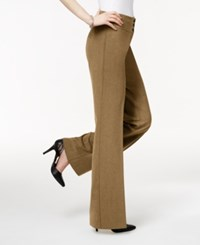 Styleandco. Style And Co. Stretch Wide Leg Pants Taupe