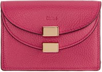 Chloe Pink Georgia Business Card Holder