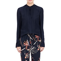 Maiyet Feather Pattern Blouse Navy