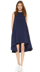 Edit Hi Lo Dress Navy
