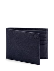 Aspinal Of London Billfold Wallet Blue