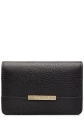See By Chloe Leather Wallet Black