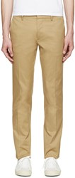 Dsquared Tan Twill Tokyo Trousers