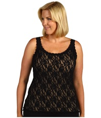 Hanky Panky Plus Size Signature Lace Unlined Cami Black Women's Sleeveless