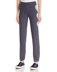 Wildfox Couture Faded Heart Sweatpants After Midnight Blue