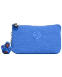Kipling Handbag 3 Pocket Cosmetic Case Sailor Blue