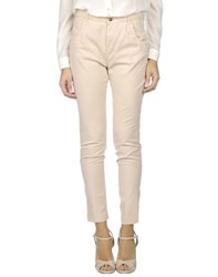 Twin Set Jeans Trousers Casual Trousers Women Sand