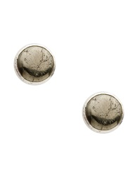 First People First Earrings Silver