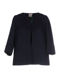 Douuod Suits And Jackets Blazers Women Dark Blue
