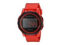 Electric Eyewear Prime Silicone Red Watches