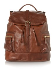 Therapy Fitsie Backpack Handbag Tan