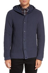 Vince Camuto Men's Hooded Cardigan