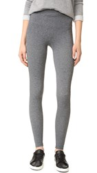 Spanx Look At Me Seamless Leggings Charcoal Heather