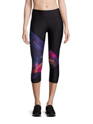 We Are Handsome Graphic Print Capri Leggings The Defender Print